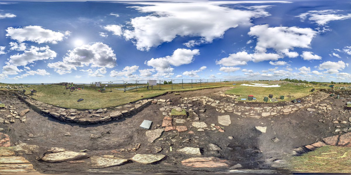 RT @sandbyborg: New blog post with VR-view of the excavation is up on our brand new site https://t.co/aGKkFacP30! https://t.co/Q6GR5D9jCg
