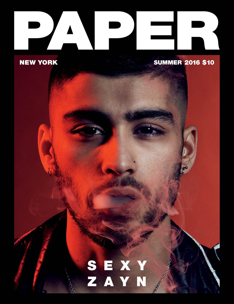 Introducing our Summer #SEXY Issue starring @zaynmalik! See the pics & read the story here