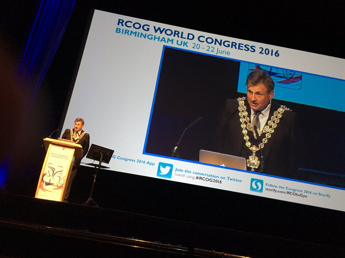 ...and - this week - more obstetricians & gynaecologists than anywhere in the world! #RCOG2016 https://t.co/Ke7zuwBw88