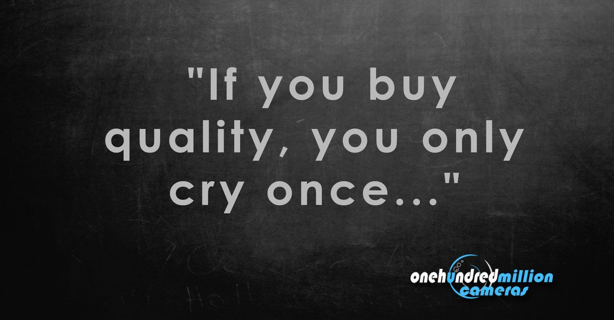 buy once cry once
