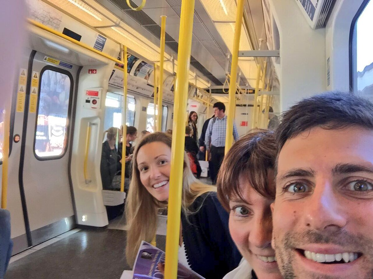 Novak Djokovic On Twitter I M Officially A Londoner Best Way To Avoid The Traffic