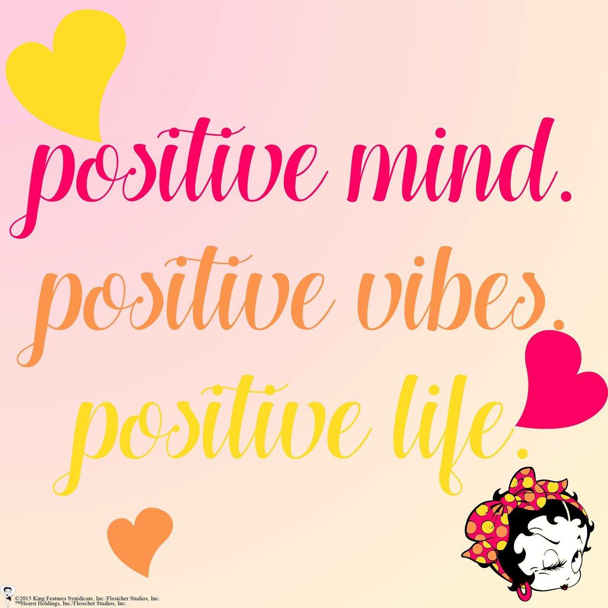 Betty Boop On Twitter Mondaymotivation Positive Mind