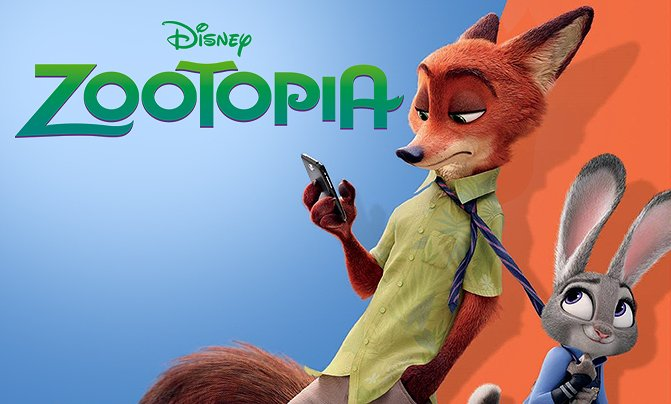"""43. """"zootopia is better than frozen.""""  // rt: agree, like: disagree"""