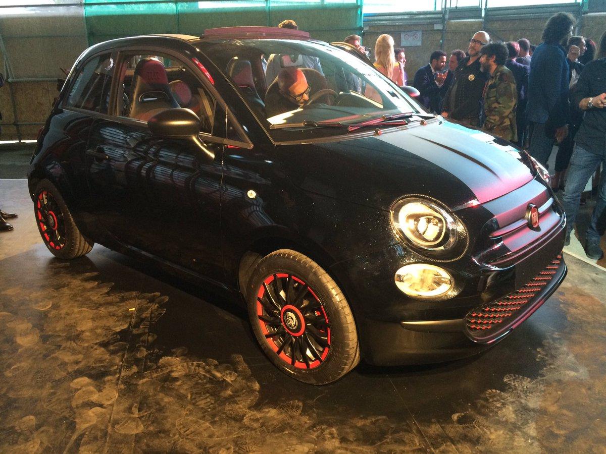 Motorbox Com Di Twitter La Fiat 500 Cabrio Di Renzo Rosso