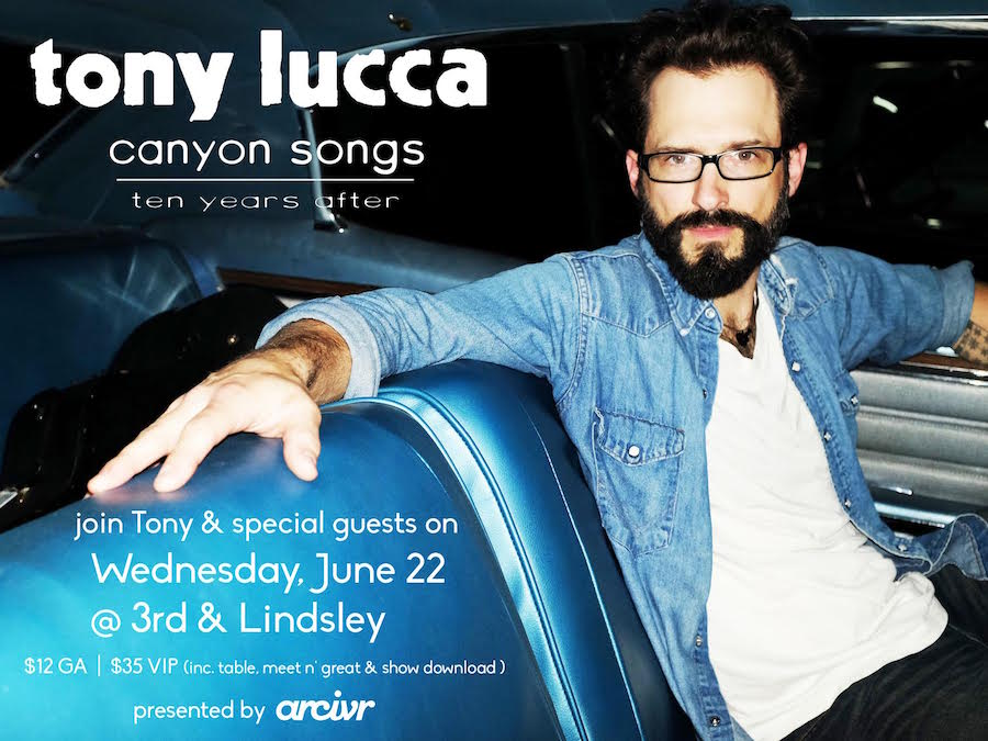 Catch one of our favorites @luccadoes TOMORROW as he celebrates 10 Years of Canyon Songs! https://t.co/086J4fooJn https://t.co/AU3y0mYvsc