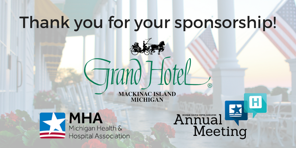 .@GrandHotelMI: Thank you for being one of our four 2016 #MHAannual Platinum Sponsors! https://t.co/Umw33wZ51z https://t.co/r9bR97KU0R