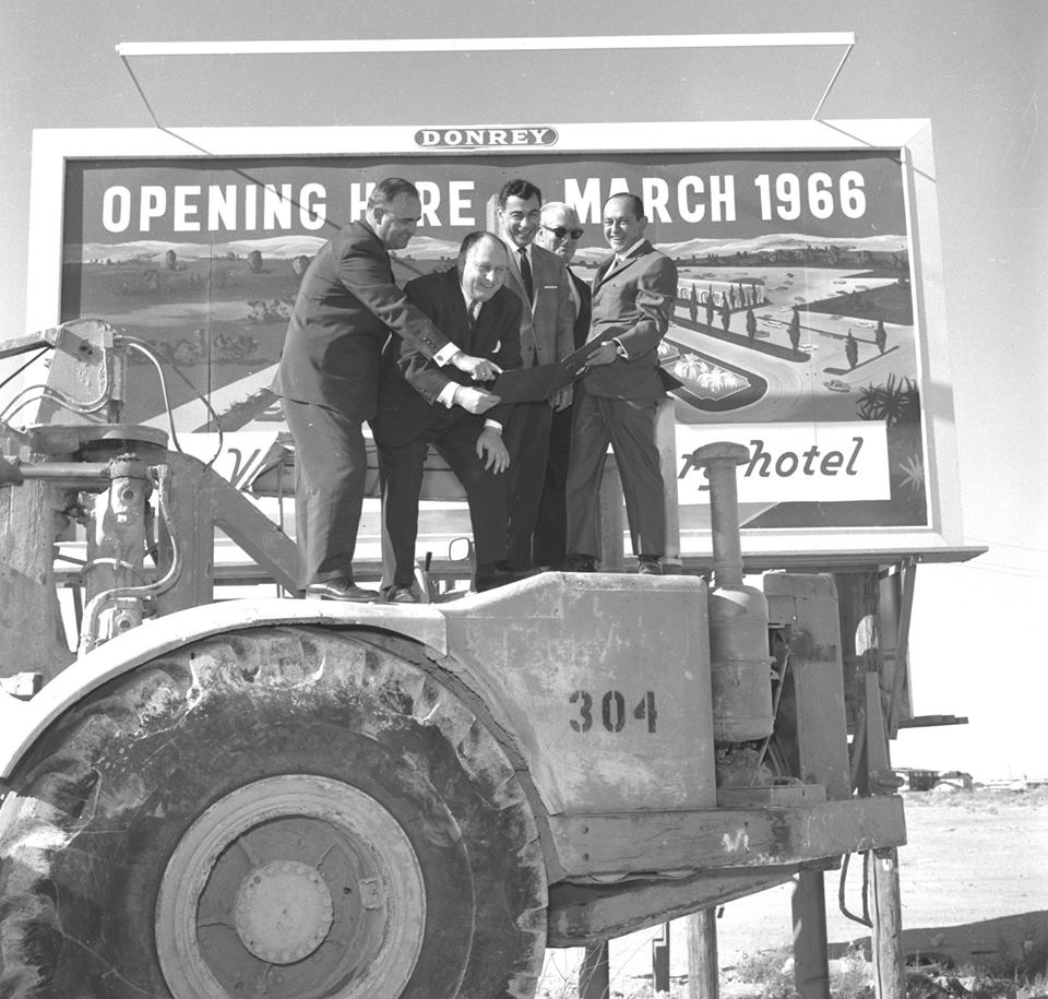 The celebration of @CaesarsPalace's 50th is on! Here's where it all began - the first groundbreaking in 1965! #CP50 https://t.co/fhYfkgGoZJ