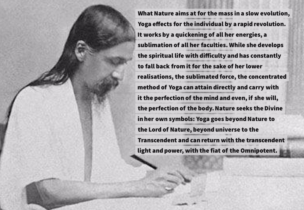 Sri Aurobindo on Twitter: