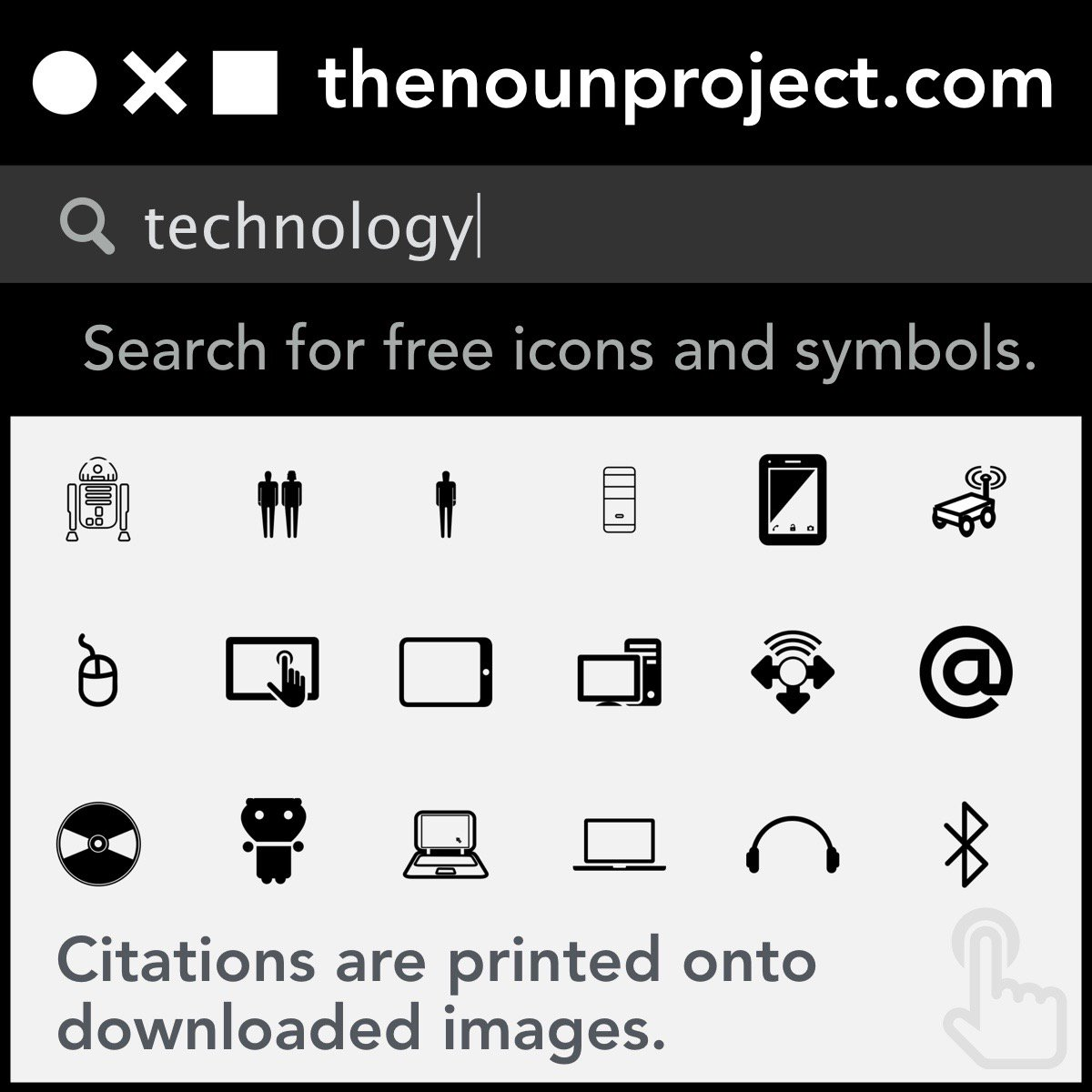 💭 Wondering where I get the icons/symbols I use in my own projects? Check out https://t.co/Fp57JOfMf0. #NATC2016 https://t.co/qiLn6w15yR