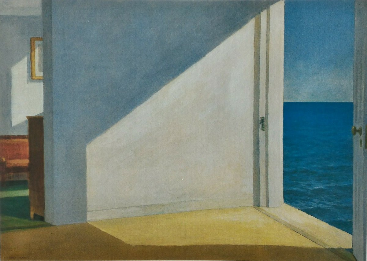 Beppe Multinu On Twitter Hopper Rooms By The Sea 1951