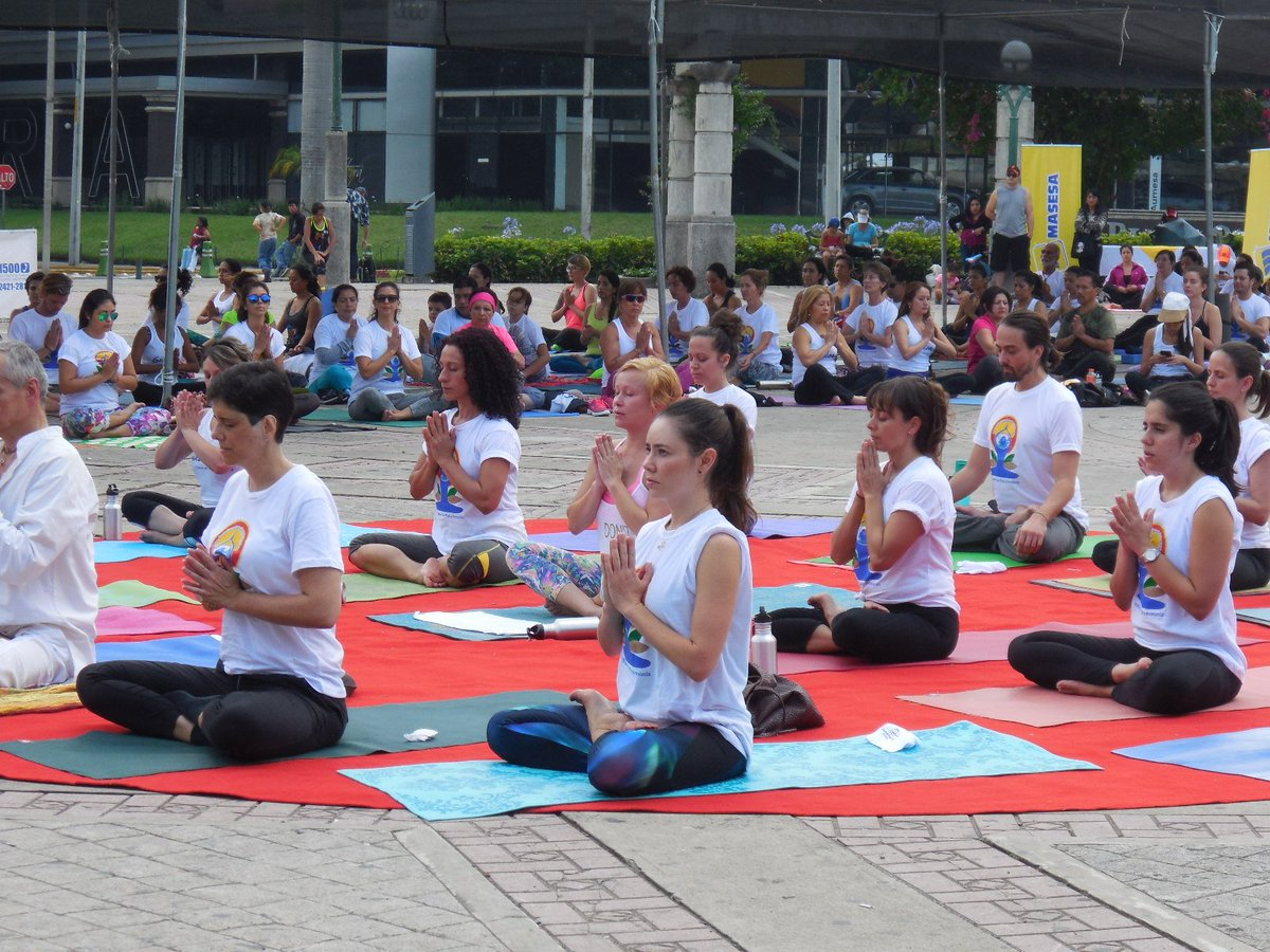 Honduras & Guatemala! Unifying power of #yoga led to large turnouts in Latin American countries #YogaDay https://t.co/HEP3uYlEhA