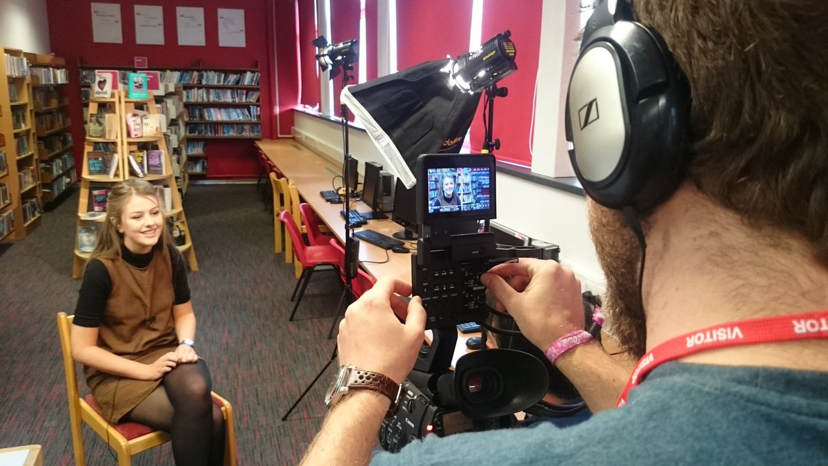 We've gone back to school to film @NHGS. Thanks to all the pupils - insightful, mature and a credit to the school. https://t.co/DTPjXAPIZH