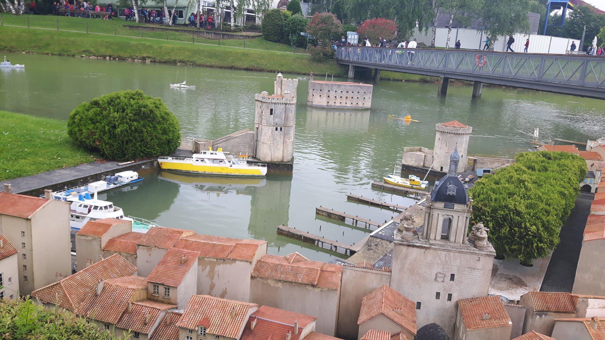 France Miniature port de La Rochelle et Fort Boyard