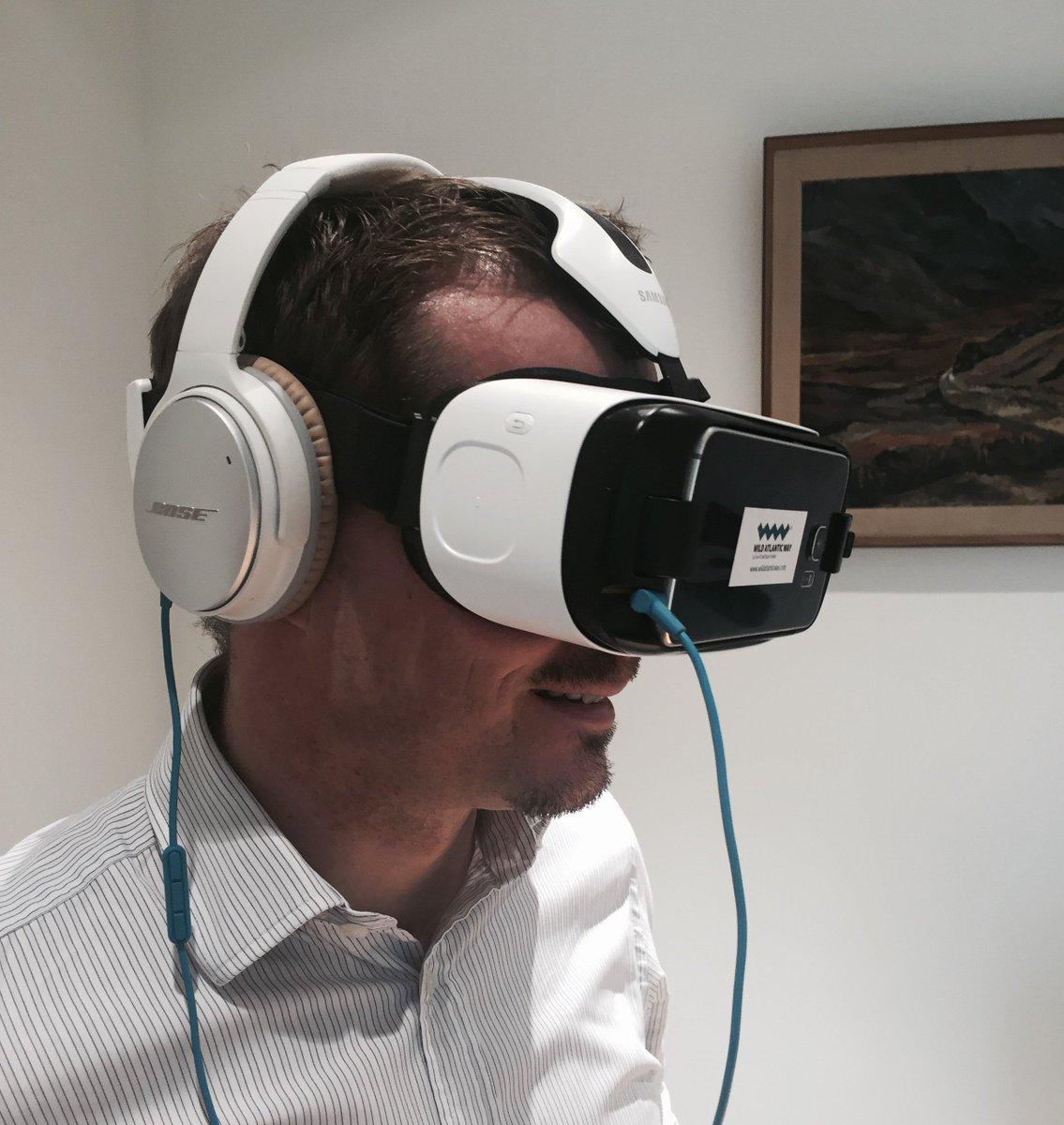 Virtual Reality and 360° videos bring Wild Atlantic Way to visitors