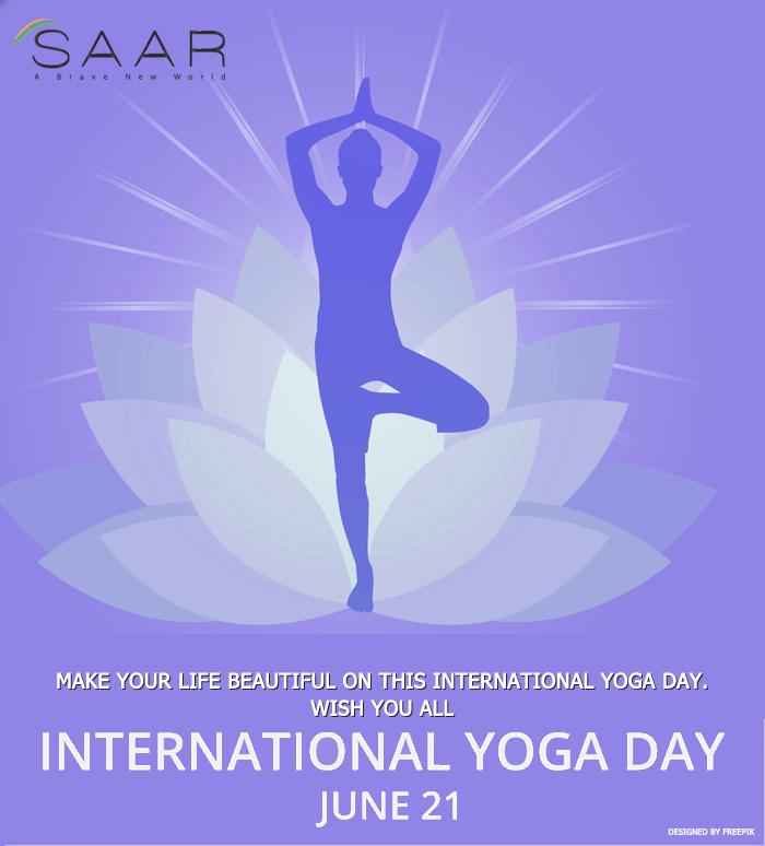 Saar It Resources Pvt Ltd On Twitter Wish You All Happy International Yoga Day Internationalyogaday Yogaday