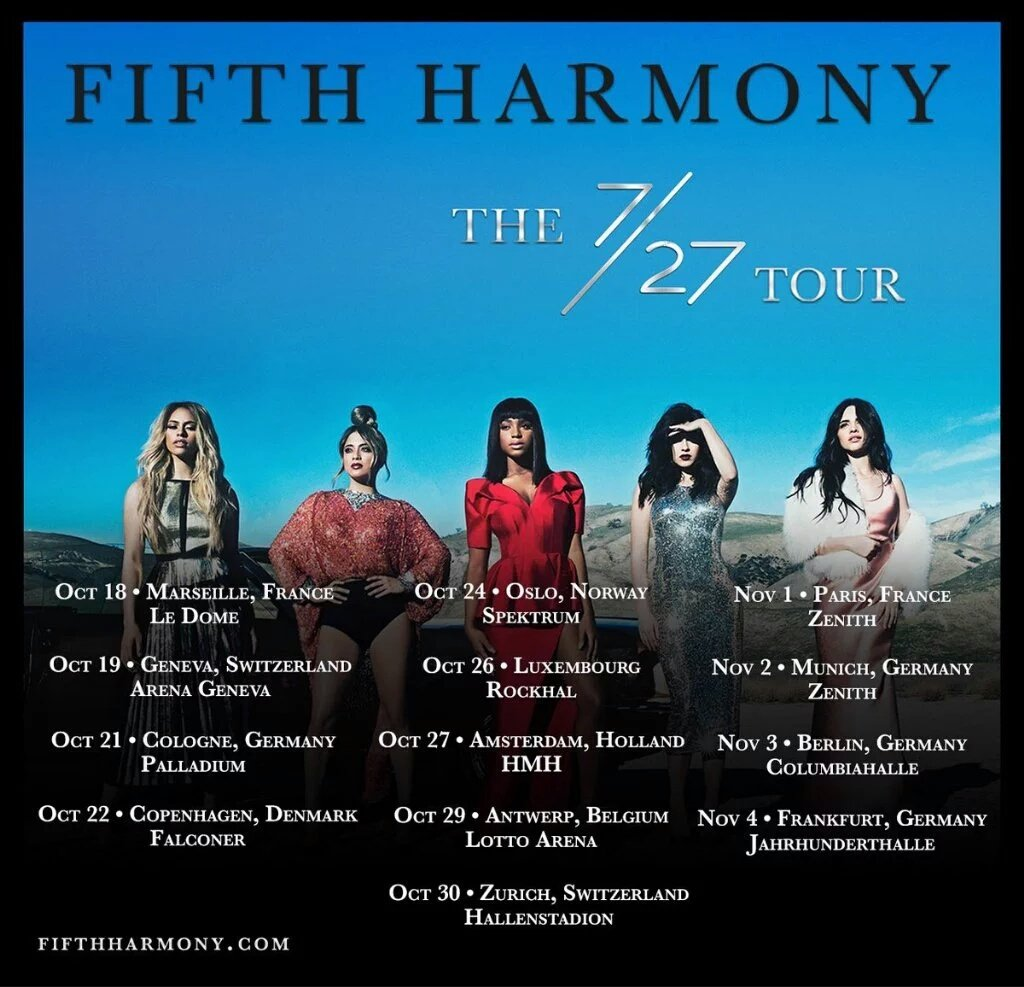 Fifth Harmony anuncia gira Europea -1
