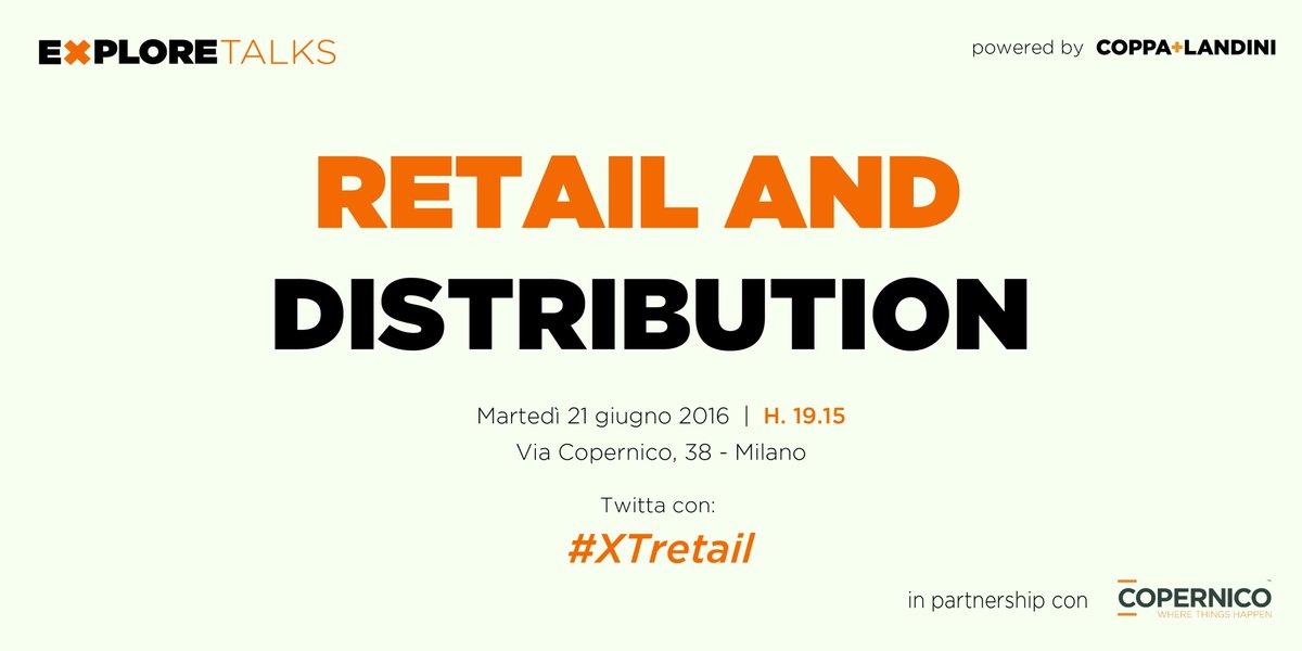 "Explore Talks on ""Retail and Distribution"" by @CoppaLandini https://t.co/wCDgRZEaLr #digitaltransformation #XTretail https://t.co/rv5Rya2SzI"