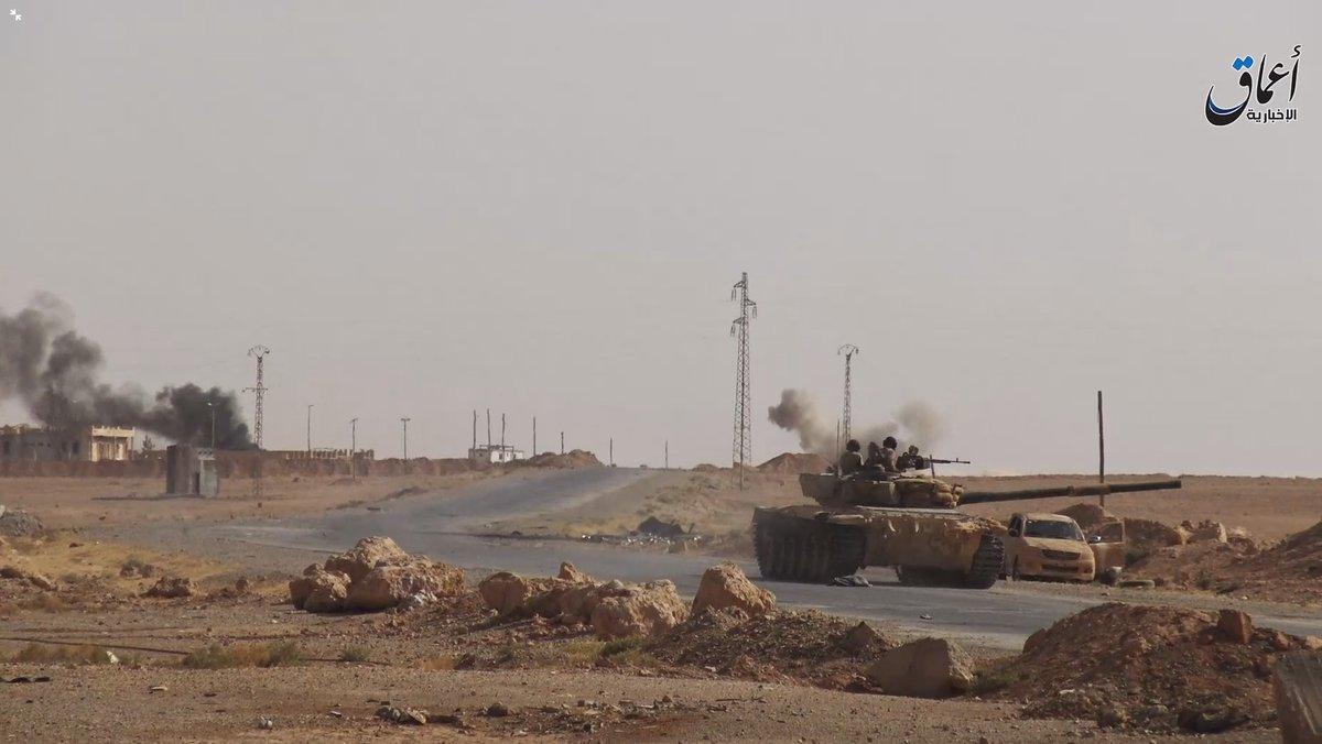 Контрудар Халифата под Раккой