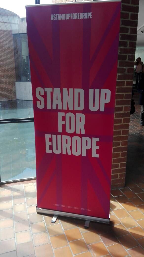 We're here! #standupforeurope https://t.co/E8tkAsWdIM
