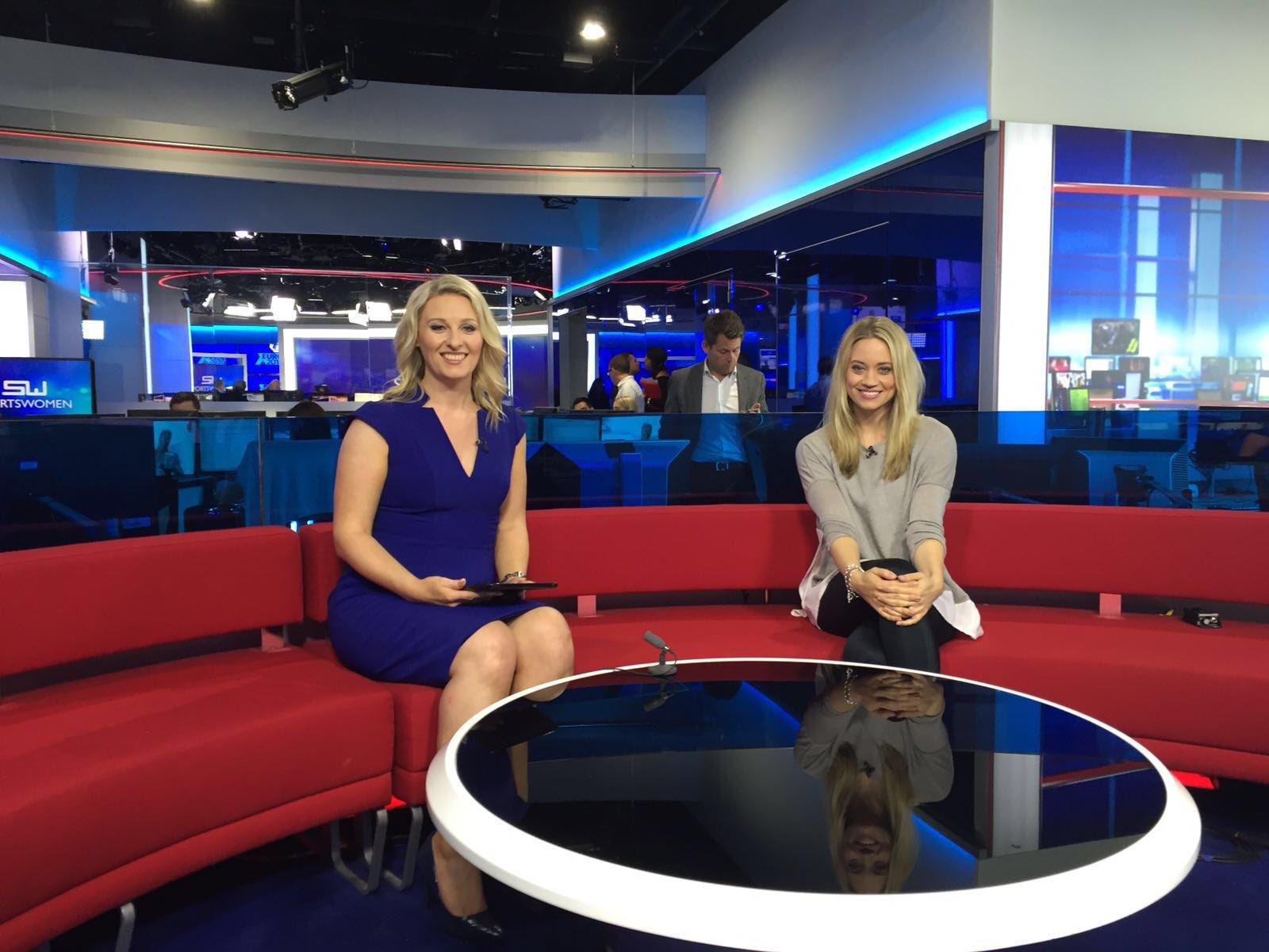 Thanks for having me @SkySportsNewsHQ !! #womensport #wellfit https://t.co/Gld6hLBQJ5