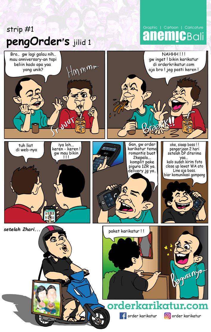 "Order Karikatur On Twitter ""strip Suka Duka Tukang Gambar"