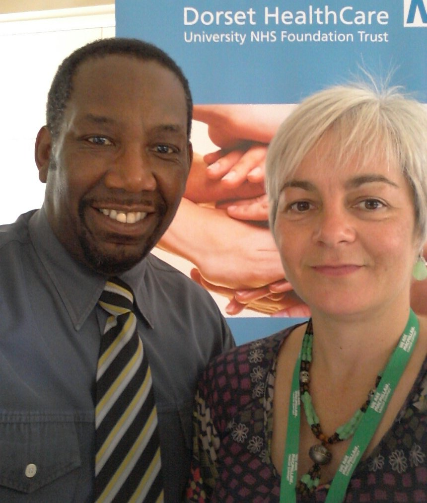 #Dorset Macmillan Advocacy at African Caribbean Luncheon Club in #Boscombe Bournemouth @DDrdk https://t.co/w2Fxy3pwaC