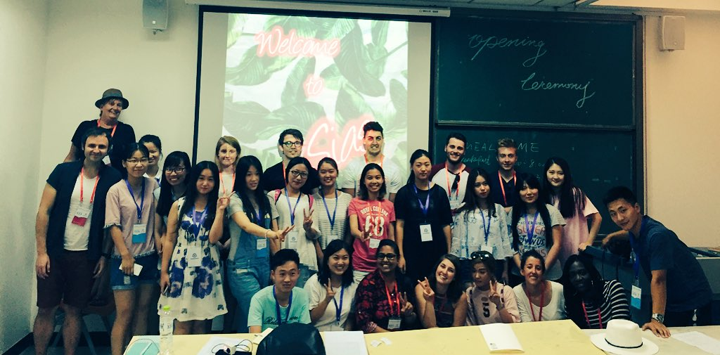 #DestinationChina Summer School Opening Ceremony with BU students at Sias International University, China https://t.co/Qbe56yRySm