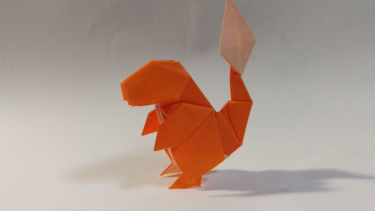 Paper Pokemon Origami Charizard Tutorial Intermediate