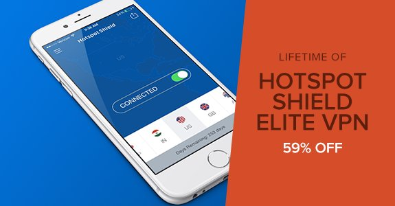 hotspot shield - elite vpn