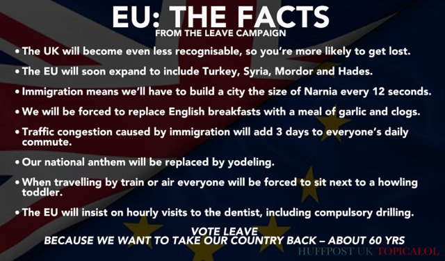 The EU. Some facts*.  *provided by the Leave campaign.  (done with @Jason_Spacey for @HuffPostUKCom) https://t.co/L5oNz8Ublr