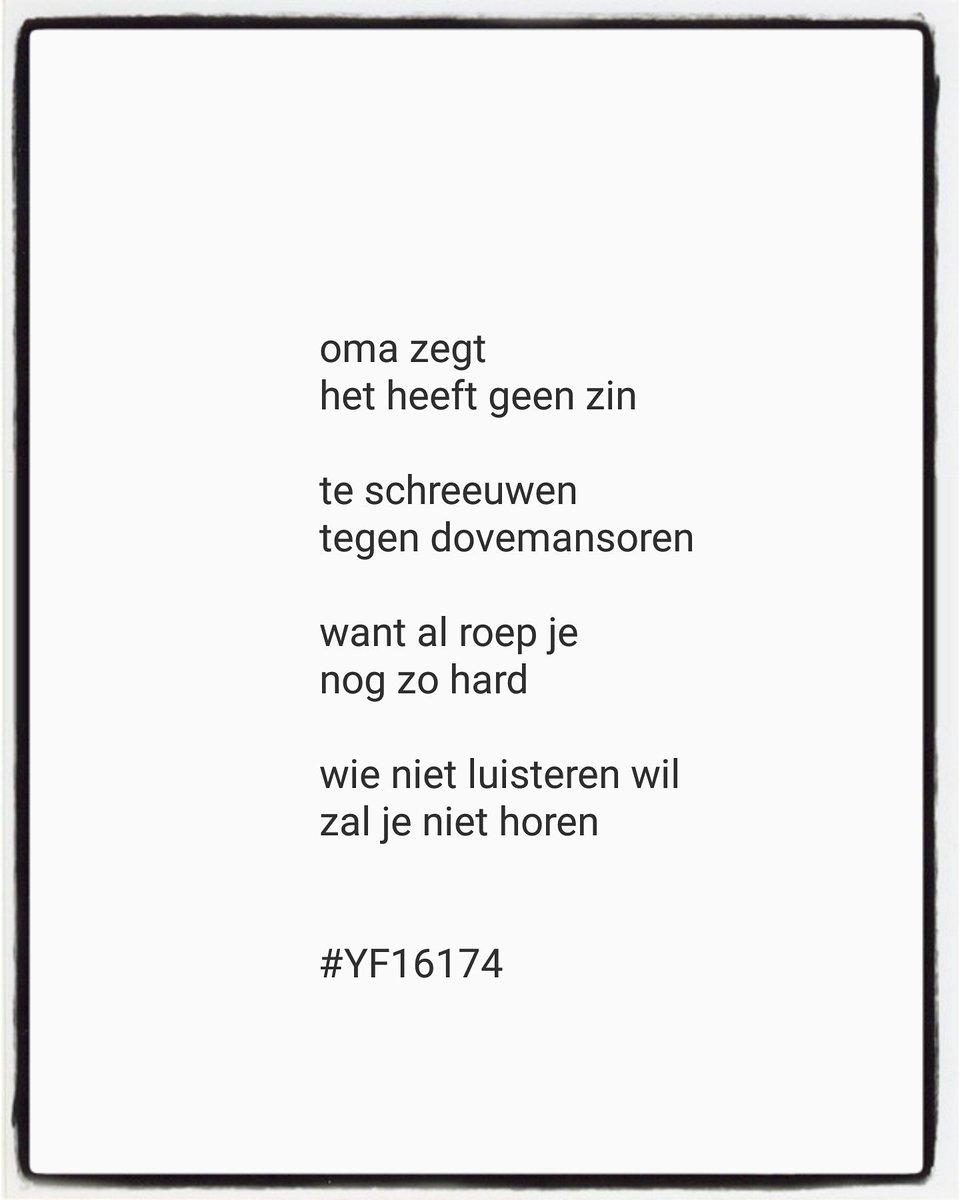 Yvonne Franssen En Twitter Versje Voor Woensdag Versje