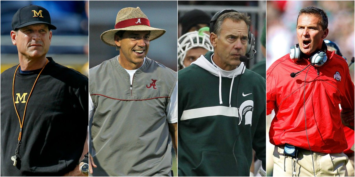 Ranking All 128 College Football Head Coaches for 2016