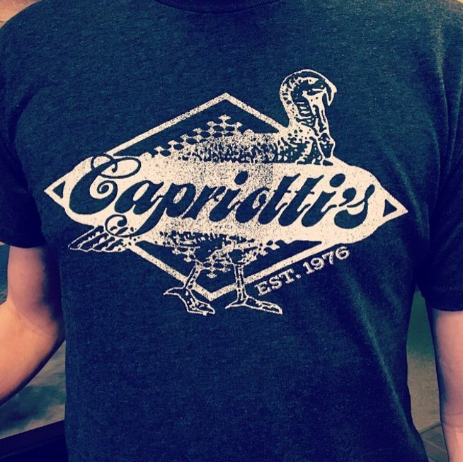 Want to win some cool swag? RT to enter to win a limited edition #Capriottis shirt