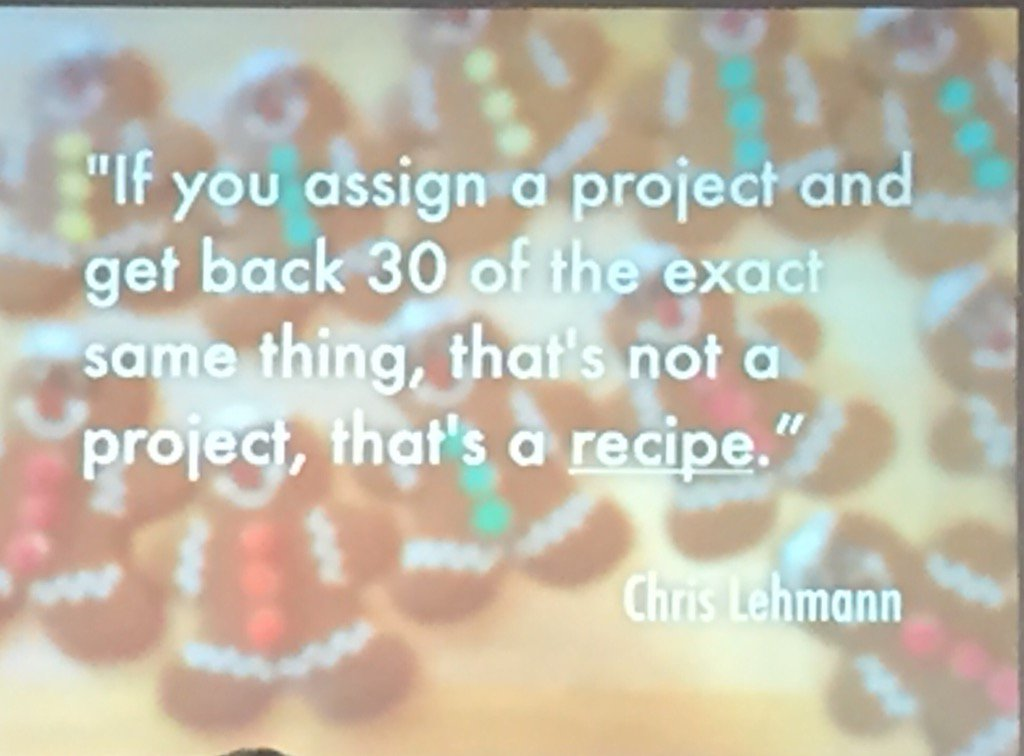 What recipe will you use with your students and what will be your product? #natc2016 @tonyvincent #itcanbedone https://t.co/YgVTH143hD