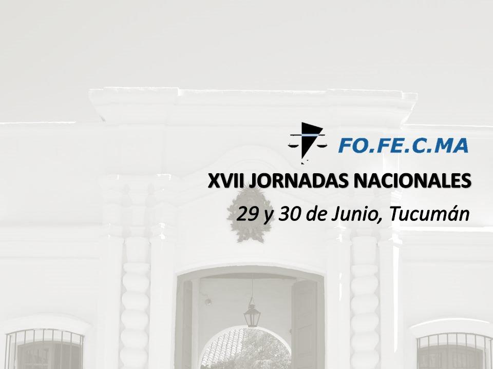 La próxima semana se llevarán a cabo las XVII Jornadas Nacionales del FOFECMA - https://t.co/NTWSZeQITK https://t.co/jiHJplrCUR