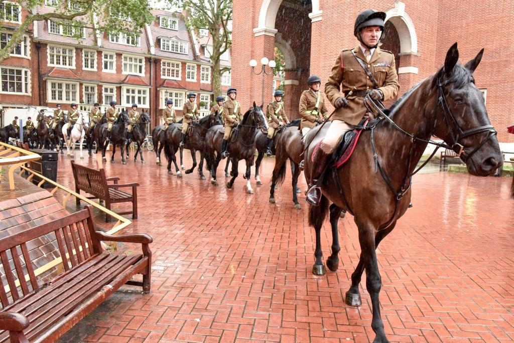 We marked the start of Armed Forces Week by joining The Household Cavalry in a flag raising ceremony @HCMRegt https://t.co/XcT2KlYwgK