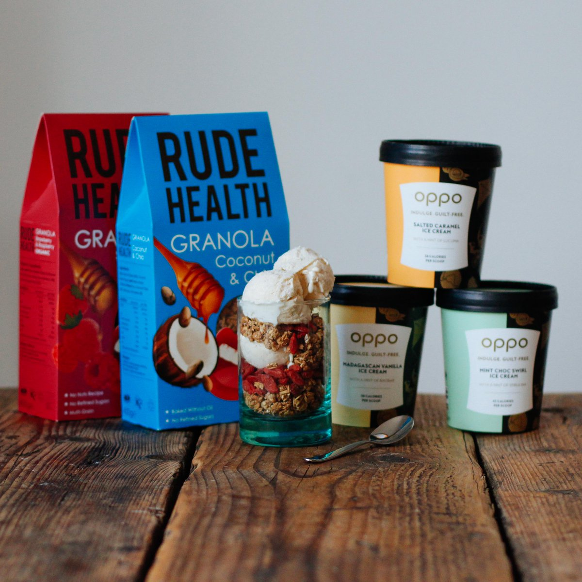 *WIN* Follow & RT both accounts to win this sensationally sexy combination of @OppoIceCream and #RudeHealth granola. https://t.co/SDPwqHmdYV
