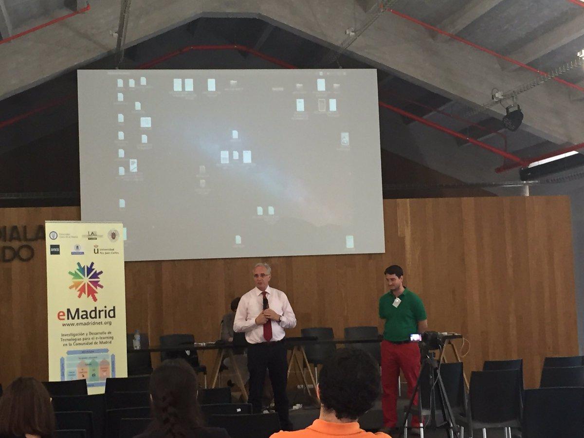 "Clausura de las VI Jornadas #emadridnet ""Unbundling education"" https://t.co/Whuf9CBwCk"