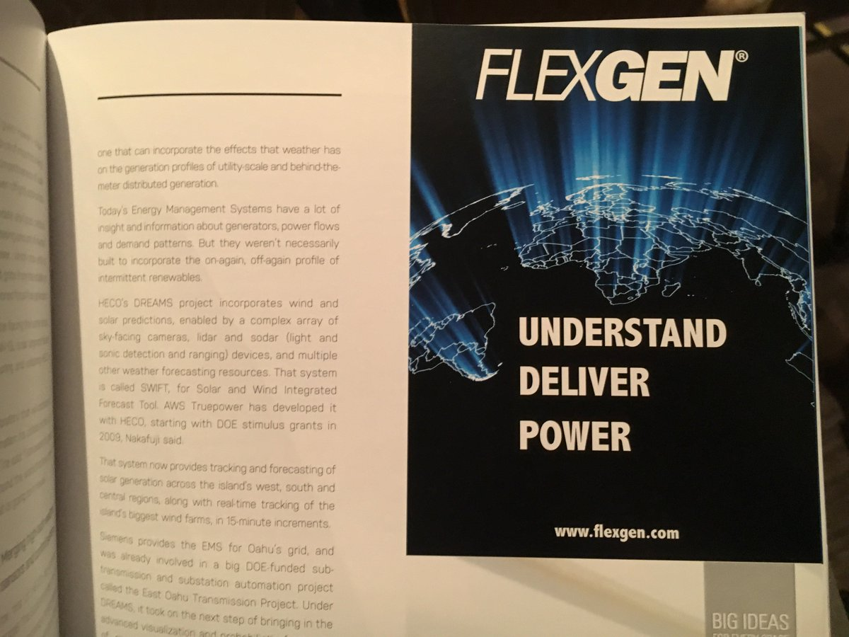 flexgen on twitter excited to get going at greentechmedia s grid