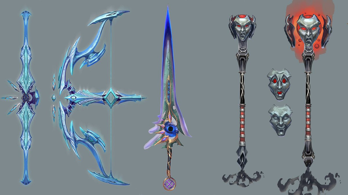 Runescape On Twitter Concept Art Of The New T92 Telos Weapons