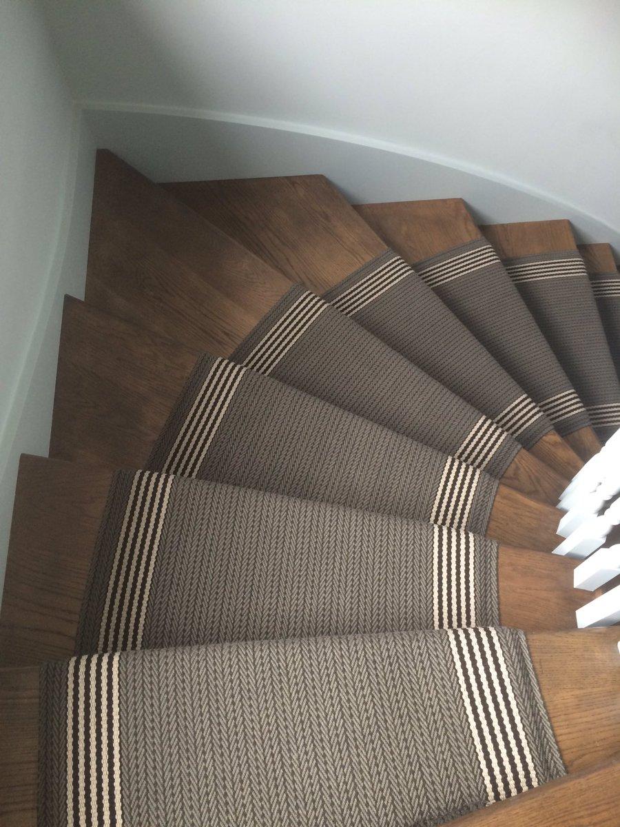 Kevin On Twitter Roger Oates Custom Width Stair Runner Flaxman Pewter Stairrunner Flatweave Beaconsfield