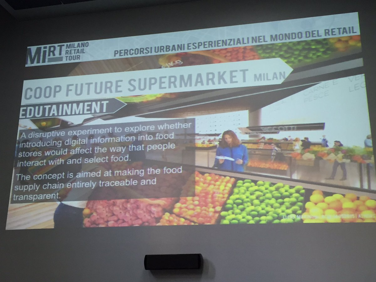 #edutainment reimagine #retail and concept of food store!  #customerexperience #app https://t.co/KVj3tTgSTW