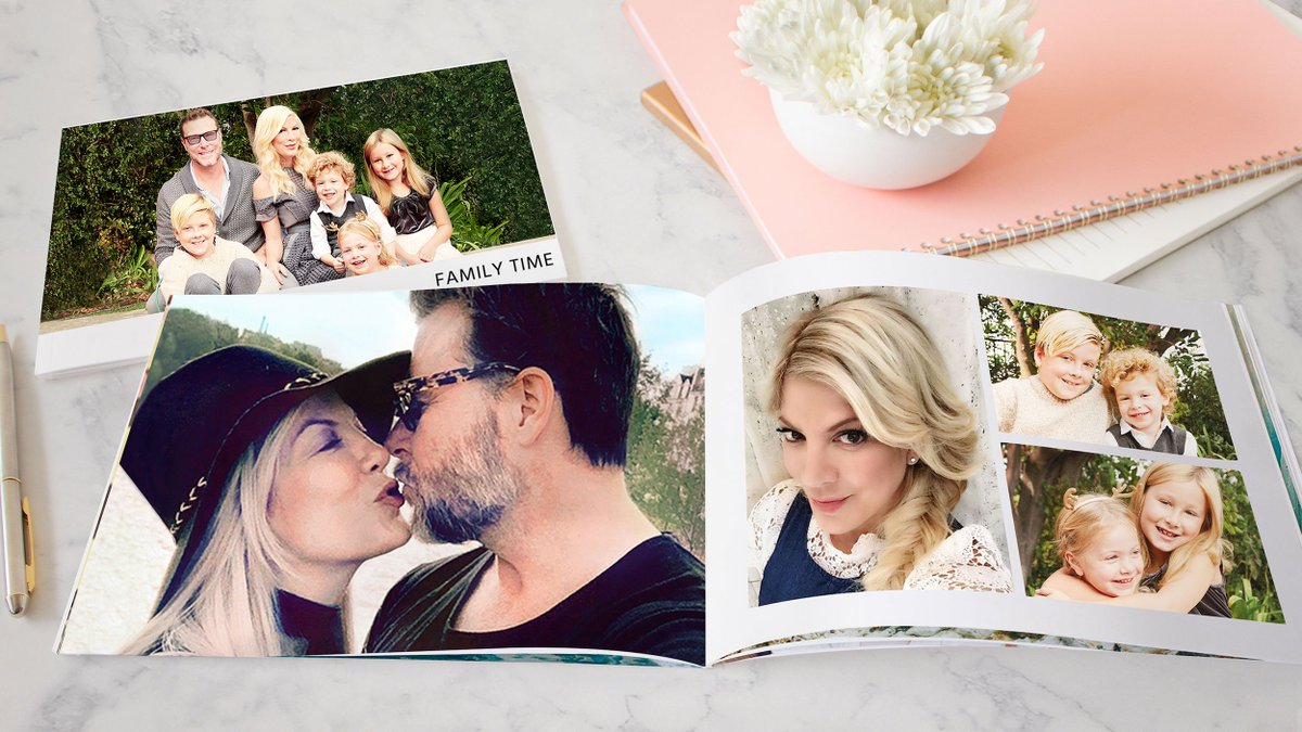 tori spelling on twitter love my photo book from the new