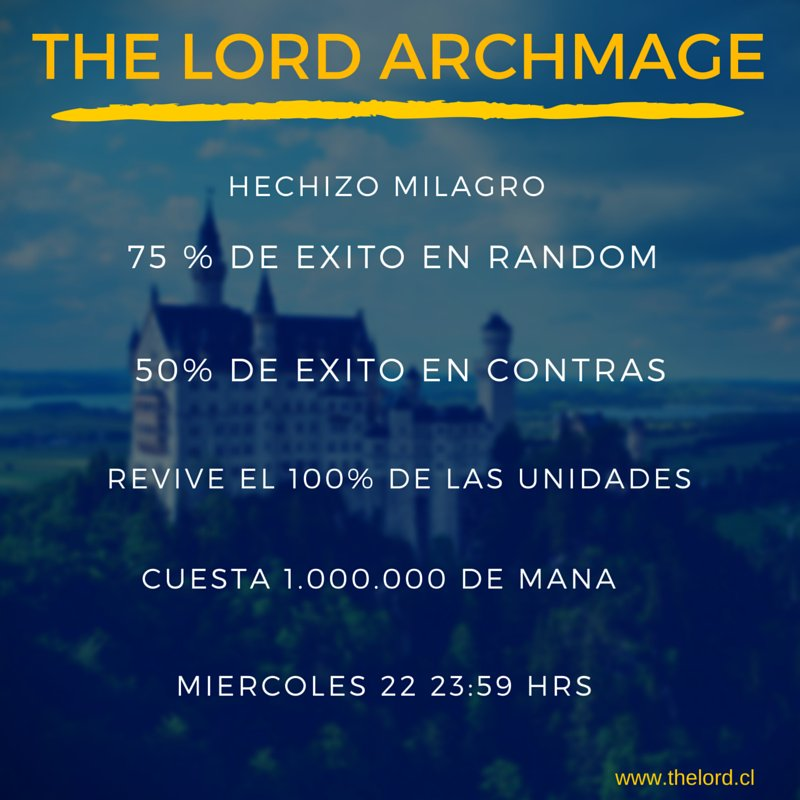 The Lord Archmage Reino