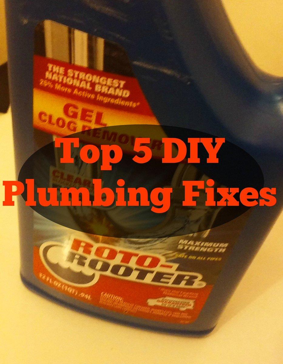 Top 5 DIY Plumbing Fixes https://t.co/MXzDa8Rhrh #happilyblended #blogger https://t.co/W2jWhRAuyk