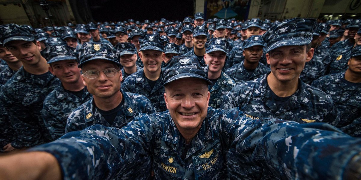 """U.S. Navy on Twitter: """"Happy #NationalSelfieDay from all of our ..."""