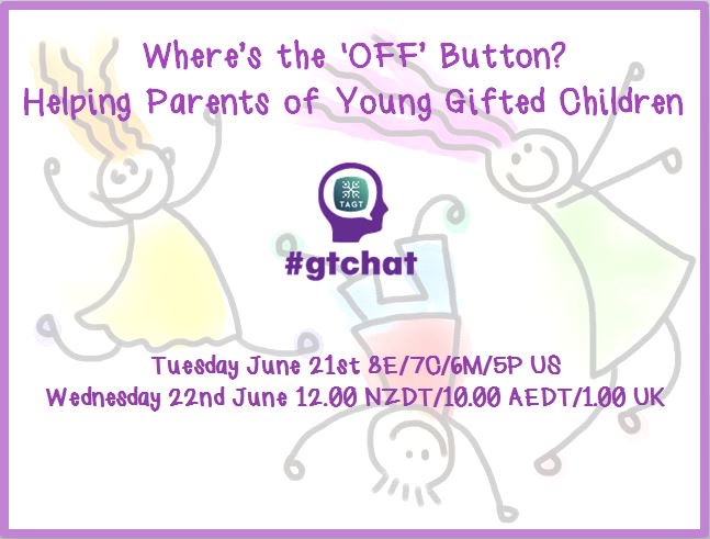 "T-10 till #gtchat - Today we'll be chatting about ""Where's the 'OFF' Button?"" https://t.co/6rifQMKqU7"