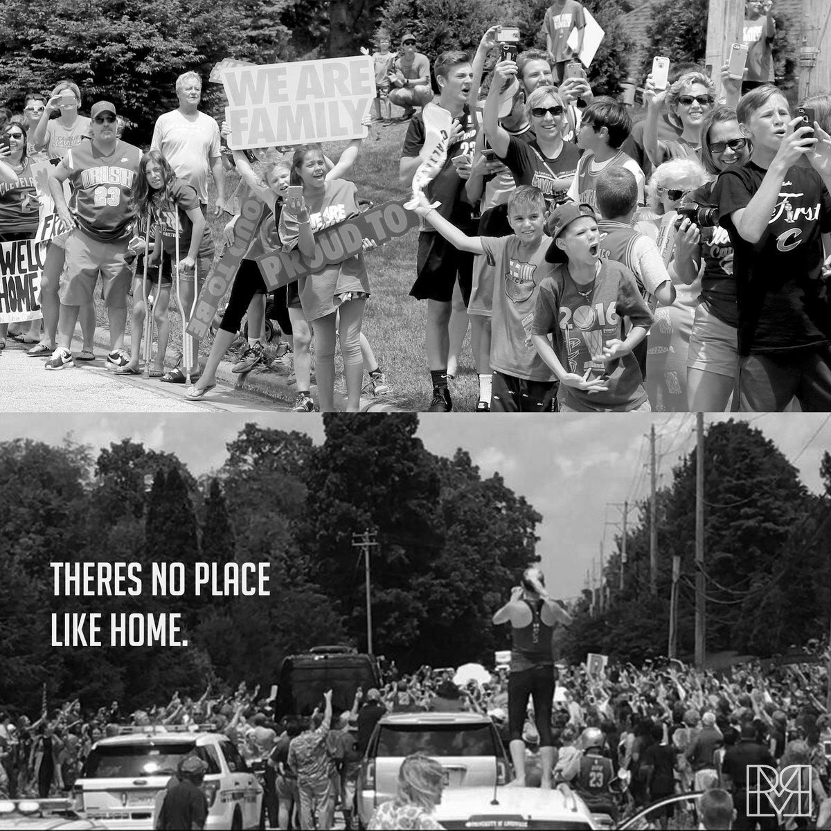 .@KingJames pulling in as Akron welcomes him home https://t.co/wAz1Esc6vX