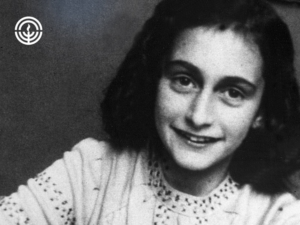 69 yrs ago, the world got to experience the #Holocaust through one girl's eyes. Thank you, #AnneFrank. #NeverForget. https://t.co/yUl5yDUjDt