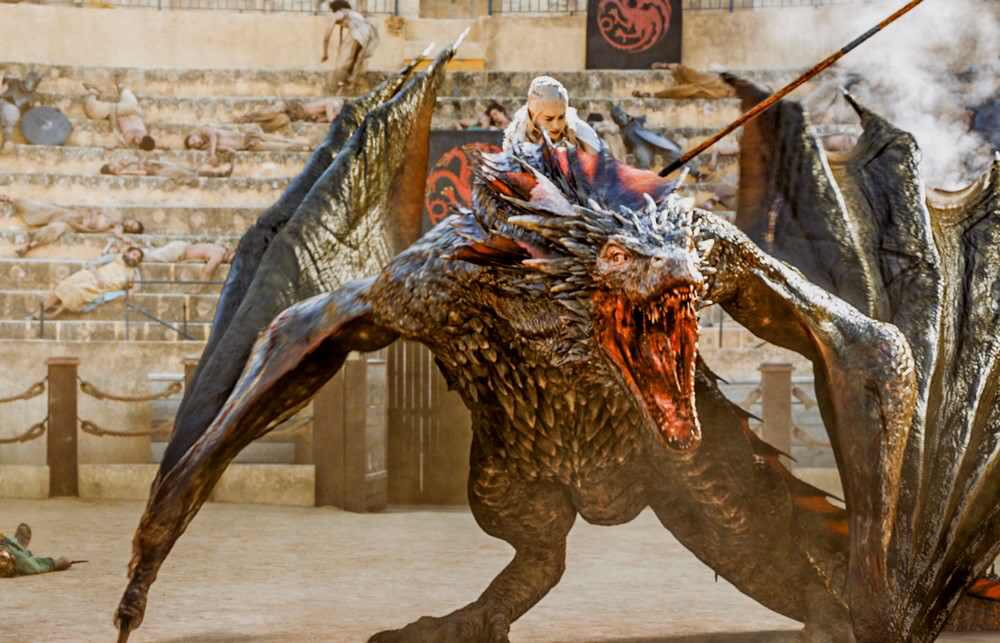 Daenerys Targaryen's dragon has turned out to be the best pet ever.